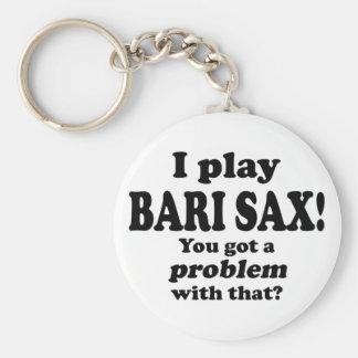 Got A Problem With That, Bari Sax Keychains