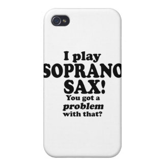 Got A Problem With That, Soprano Sax iPhone 4 Case