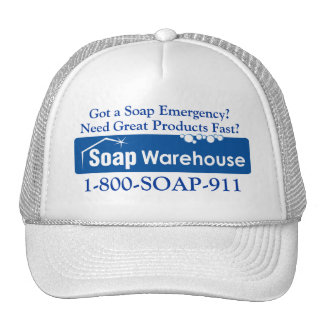 Got a Soap Emergency Call 1-800-SOAP-911 Cap
