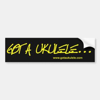 Got A Ukulele sticker