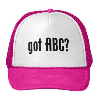 got ABC? Hats