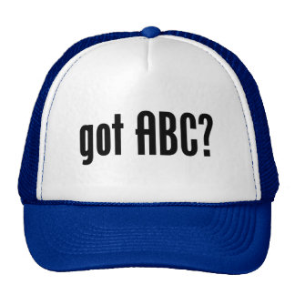 got ABC? Mesh Hat