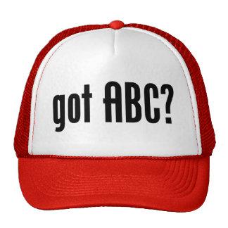 got ABC? Trucker Hats