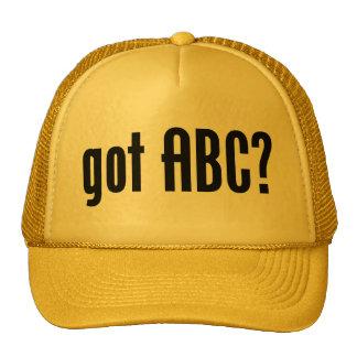 got ABC? Hat