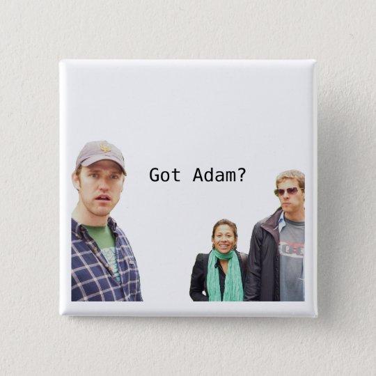 Got Adam? 15 Cm Square Badge