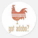 Got Adobo? Round Sticker