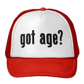 got age? mesh hats