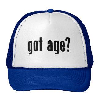 got age? trucker hats