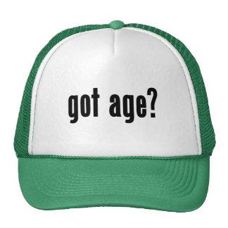 got age? hats