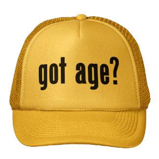 got age? mesh hat