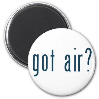 got air 6 cm round magnet