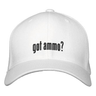 Got ammo? embroidered hats