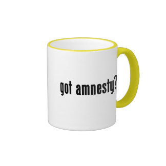 got amnesty? ringer coffee mug