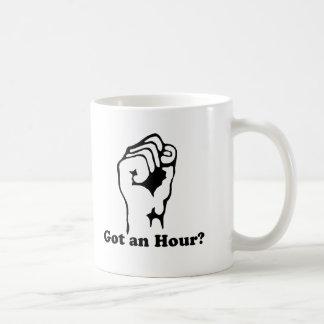 Got and Hour? Basic White Mug