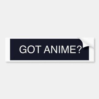 Got Anime? Bumper Sticker