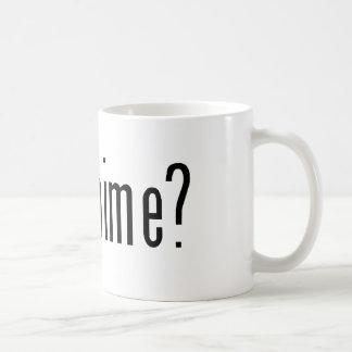 got anime? coffee mug