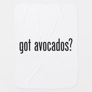 got avocados receiving blanket