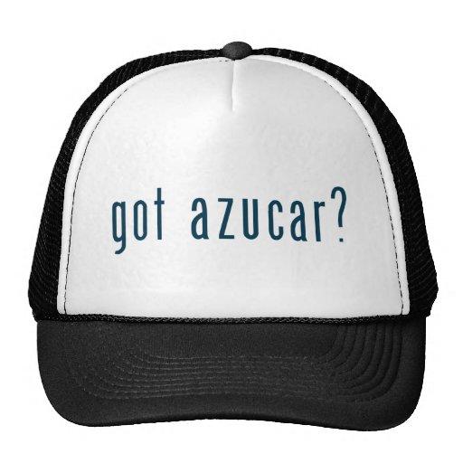 got azucar trucker hats