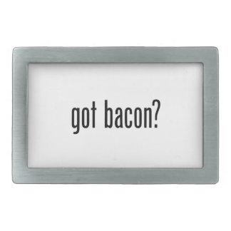 got bacon belt buckles