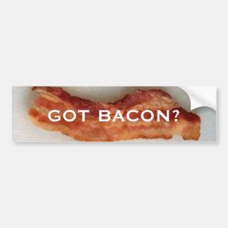 Got bacon? bumper sticker