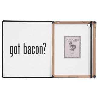 got bacon iPad covers