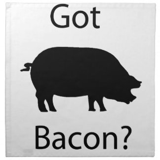 Got bacon napkin