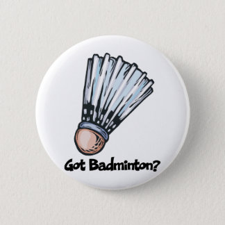 Got Badminton 6 Cm Round Badge