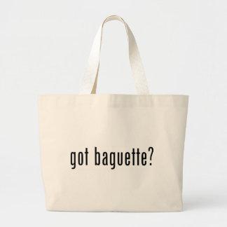 got baguette canvas bags