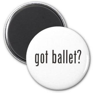 got ballet? 6 cm round magnet
