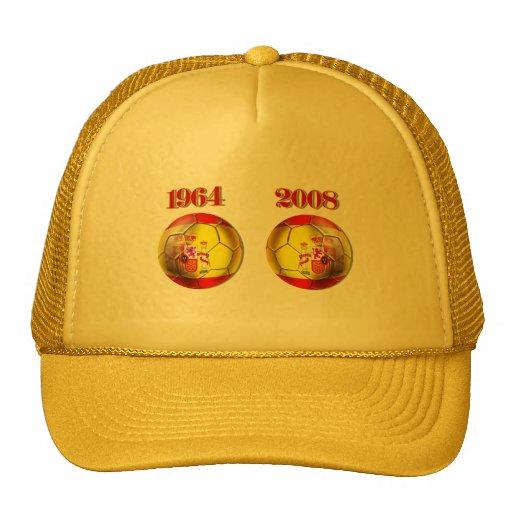 Got Balls ? Spain 1964 and 2008 Champions balls Mesh Hats