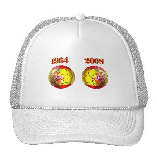 Got Balls ? Spain 1964 and 2008 Champions balls Trucker Hats