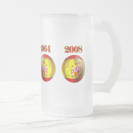 Got Balls ? Spain 1964 and 2008 Champions balls Coffee Mugs