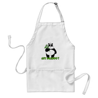 got bamboo? adult apron