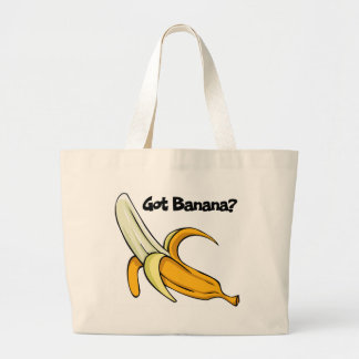 Got Banana Large Tote Bag