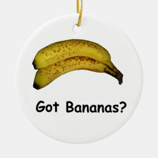 Got Bananas Christmas Ornament