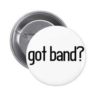got band? 6 cm round badge