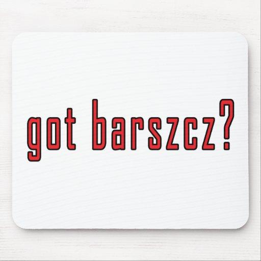 got barszcz? mouse mat