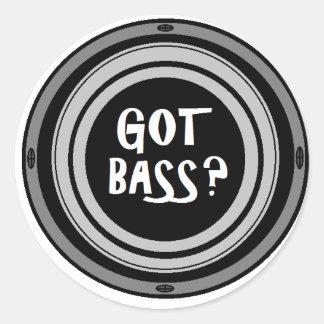 Got Bass? Glossy Sticker