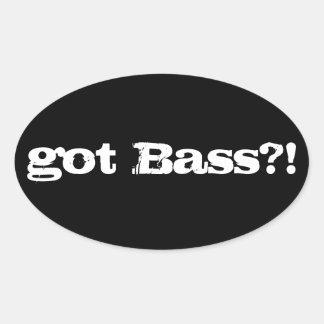 got Bass? Sticker
