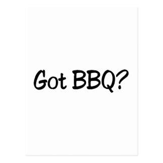 Got BBQ Postcard