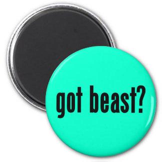 got beast? refrigerator magnet