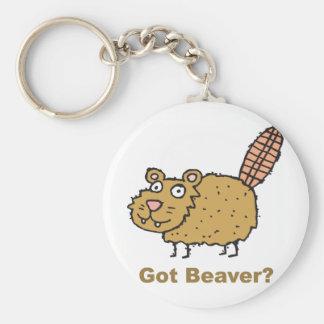 Got Beaver Key Ring