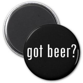 got beer? 6 cm round magnet