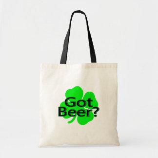 Got Beer Clover Budget Tote Bag