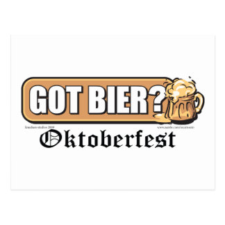 Got Bier - Postcard