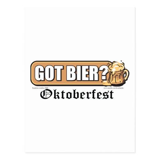 Got Bier - Post Card