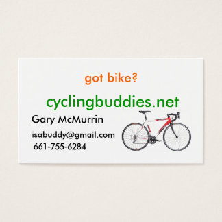 got bike? business cards