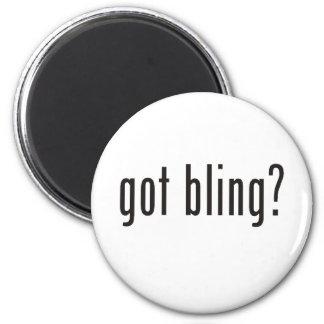 got bling? 6 cm round magnet