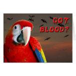 Got Blood? Greeting Card