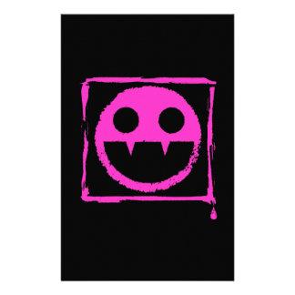 got blud smily ded girl vamp Smily n' Fangs!! Stationery